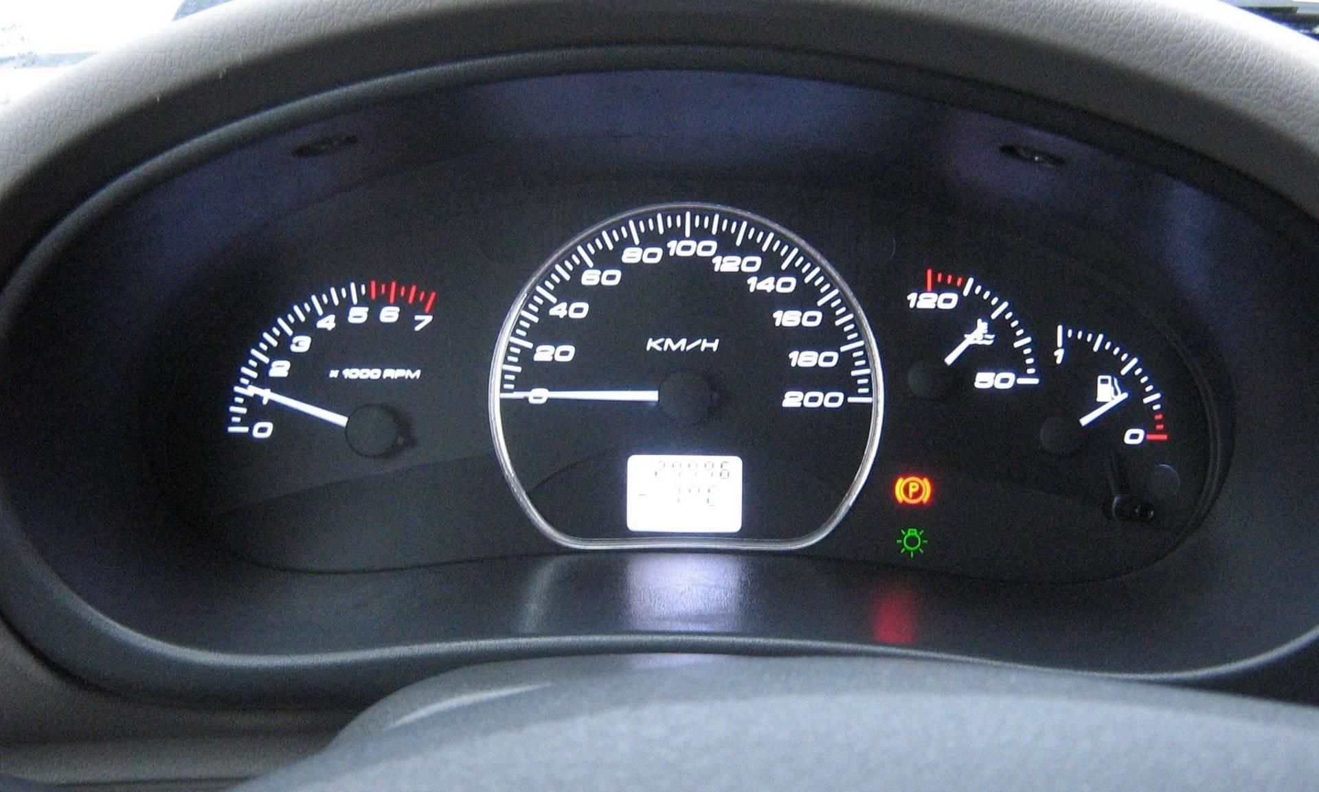 Информация о состоянии авто