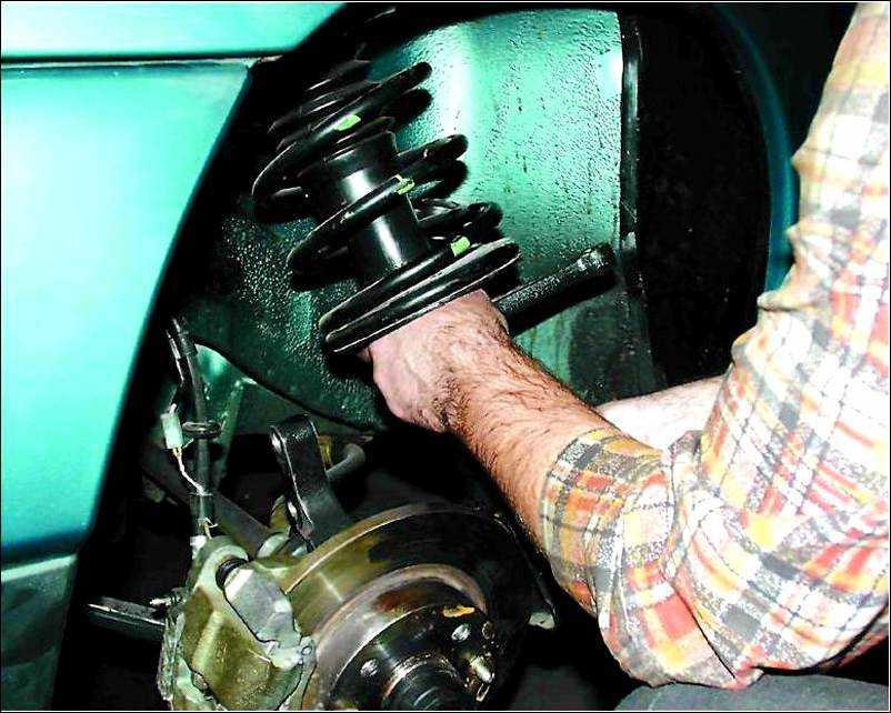 Фото №10 - ремонт передних стоек ВАЗ 2110