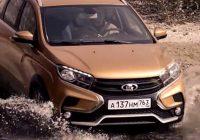 АвтоВАЗ выпустил рекламный видеоролик с Lada XRAY Cross