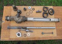 Делаем ремонт рулевой рейки Калина